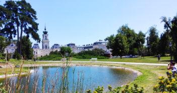 A Festetics Kastély parkja