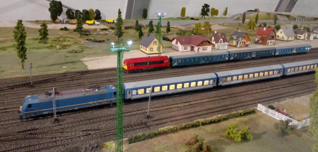Vasútmodell kiállítás Keszthely