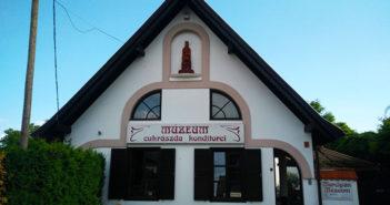 Marcipán Múzeum bejárata Keszthelyen