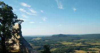 Kilátás a Rezi várból