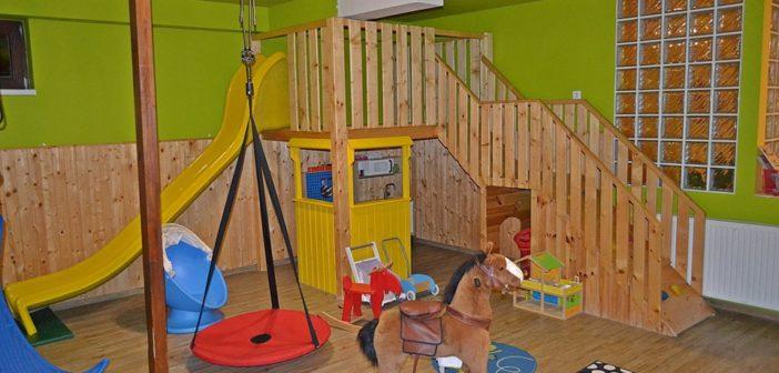 Az Ugrifüles Játszóház játéktere