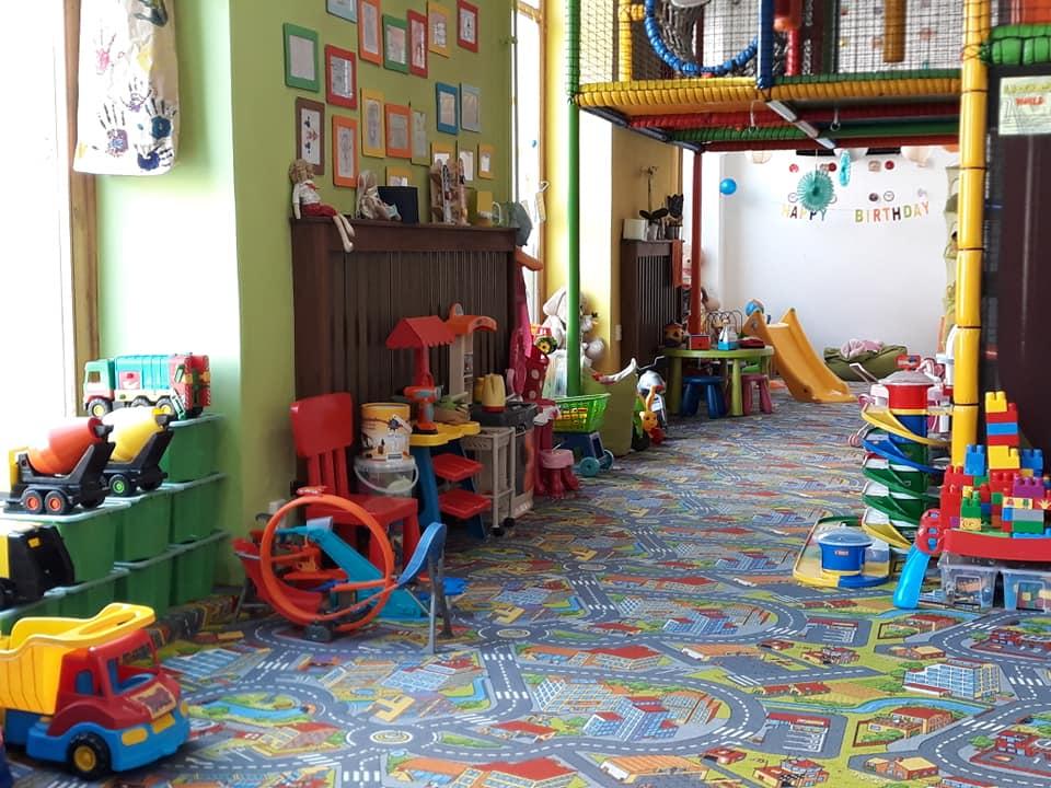 A Sajtkukac Játszóház játéktere