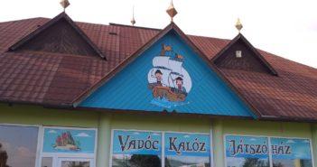 Vadóc Kalóz Játszóház Keszthelyen! A város legújabb játszóháza.