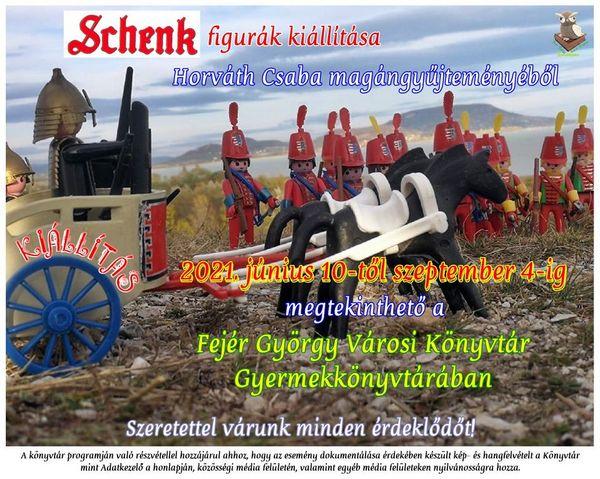 Meghódítjuk a várat! - Schenk játékkatona- és várkiállítás Keszthelyen a gyermek- és felnőtt könyvtárban egész nyáron.