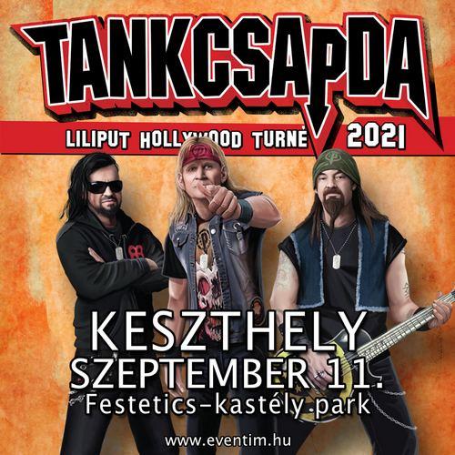 Kastélyok, várak - Tankcsapda koncert Keszthelyen a Festetics-kastély parkjában 2022. július 9-én.